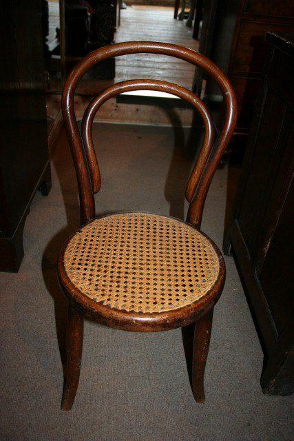 Thonet Child S Chair Antiques Atlas