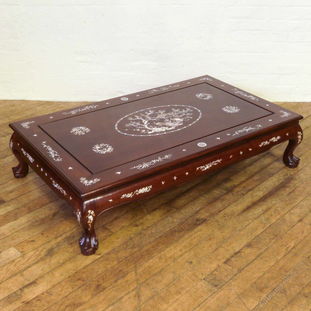 Chinese Inlaid Coffee Table