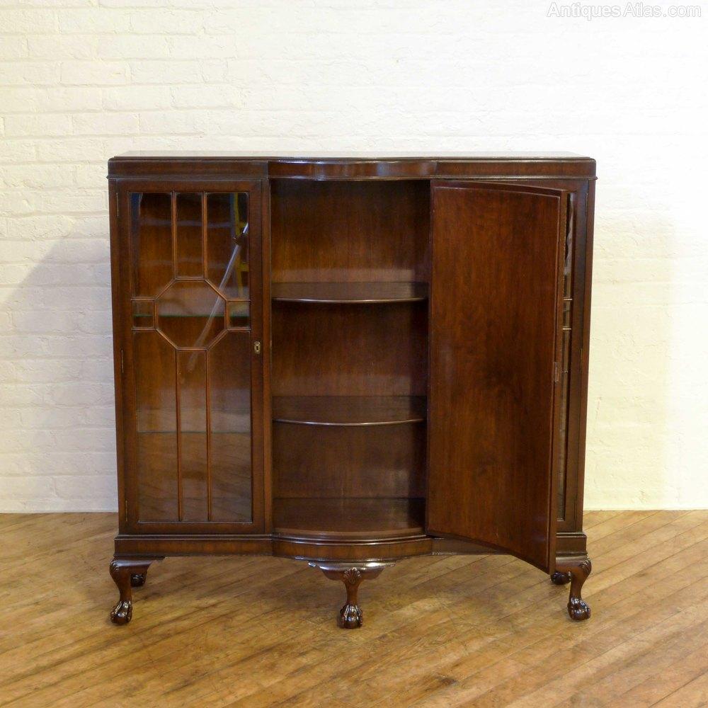 Dark Walnut Kitchen Cabinets: Dark Walnut Figured Cabinet