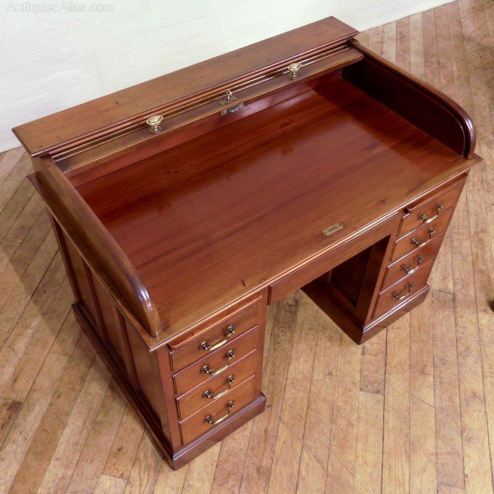 Edwardian Mahogany Rolltop Desk Antiques Atlas