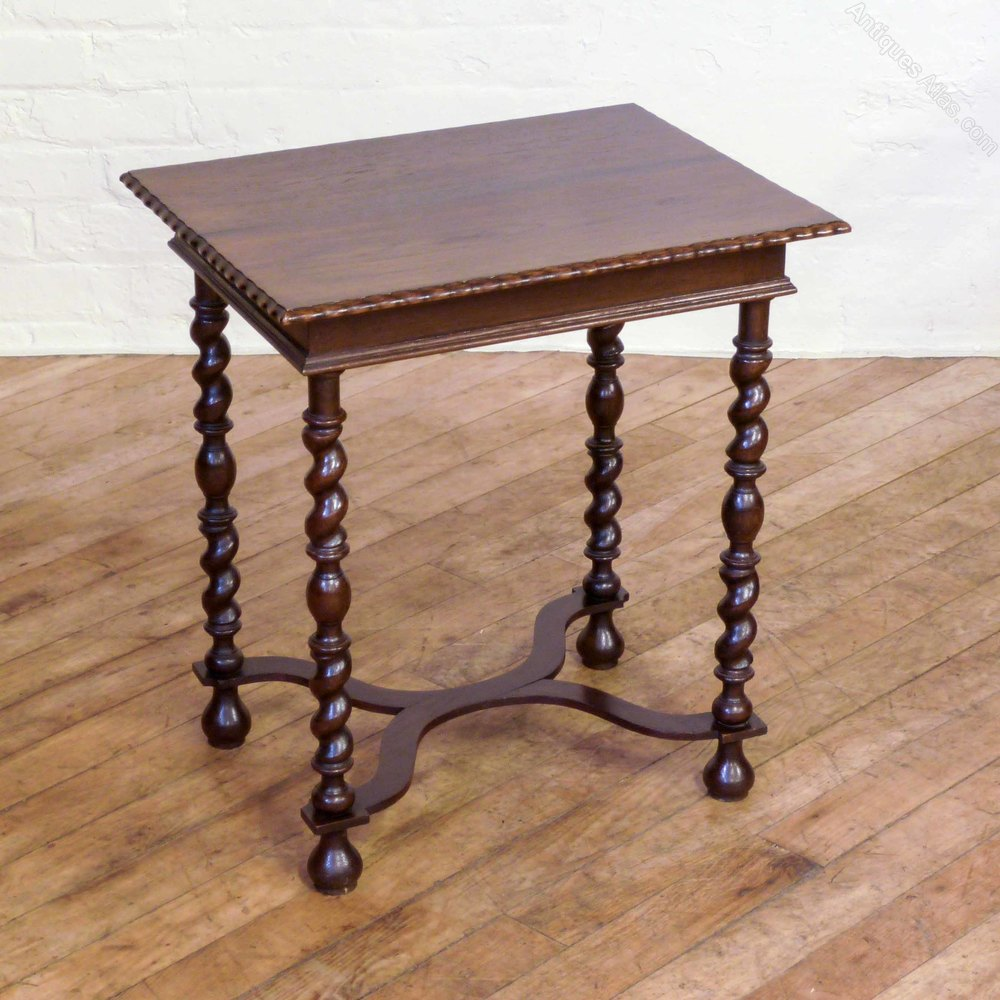 Jacobean style oak occasional table antiques atlas for Shallow coffee table