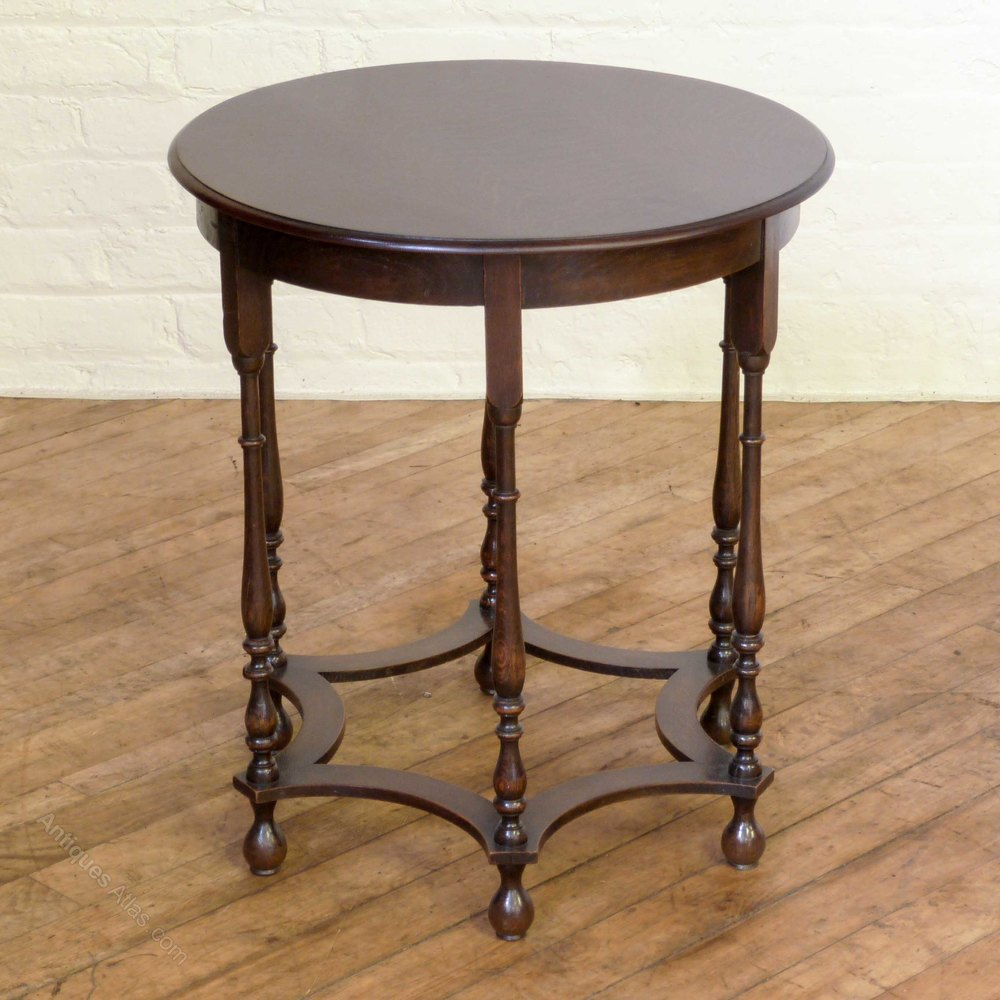 Occasional Tables: Oak Occasional Table