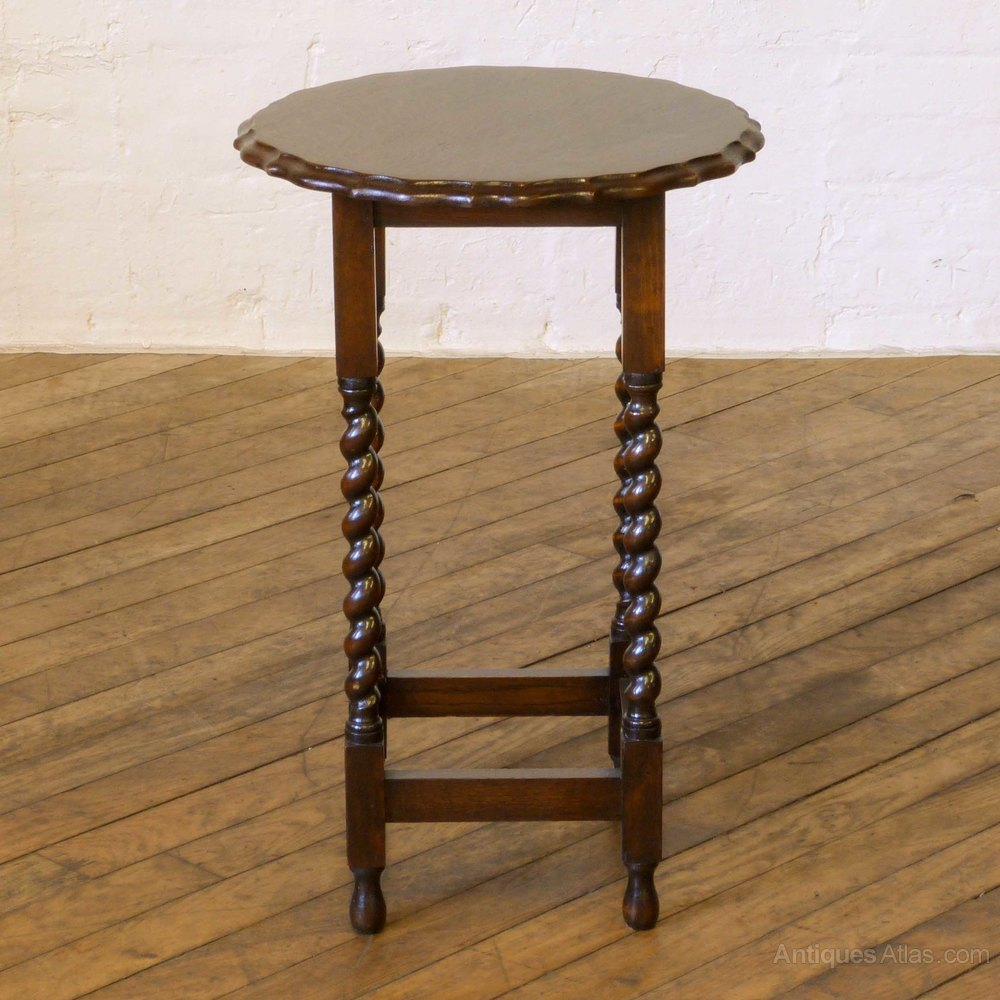 Oak occasional table antiques atlas for Occasional tables