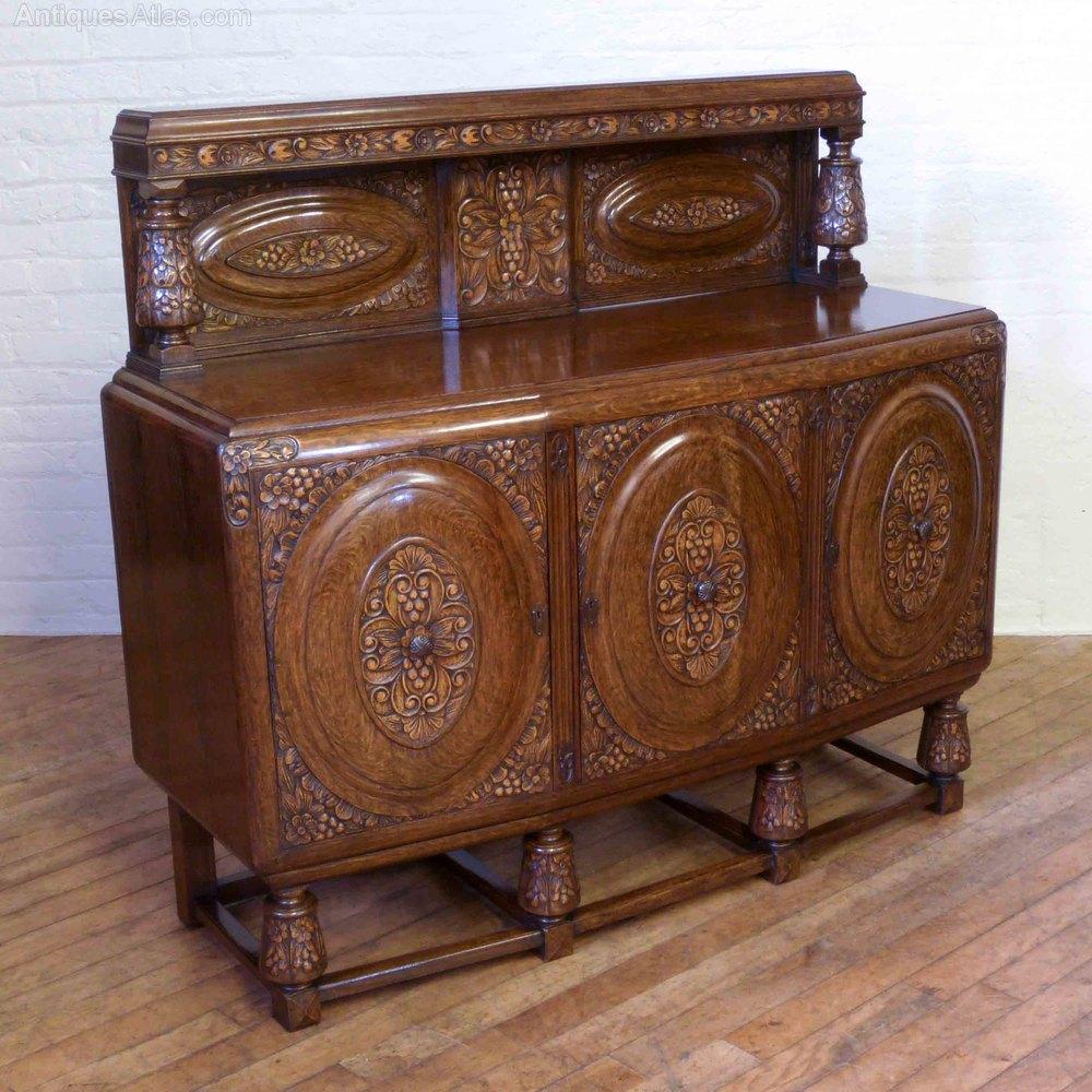 Rare 17 Piece Oak Suite Of Matching Furniture Antiques Atlas