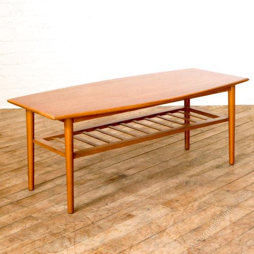 antiques atlas retro teak coffee table