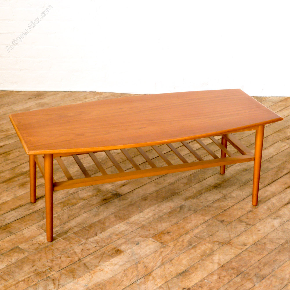 Antique Teak Coffee Table: Retro Teak Coffee Table