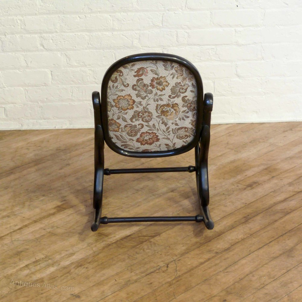 Small Bentwood Rocking Chair Antiques Atlas