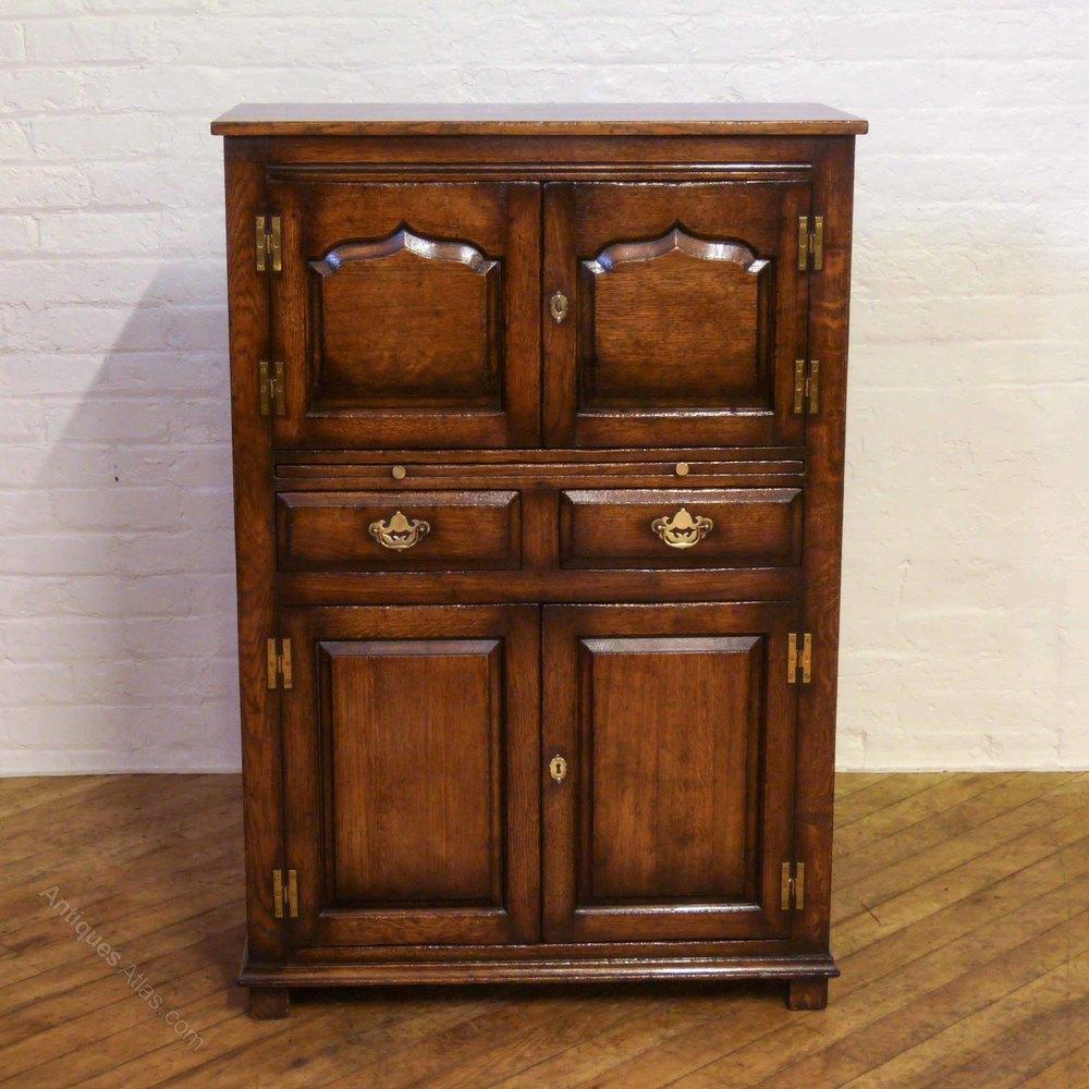 antiques atlas titchmarsh goodwin oak wine cabinet. Black Bedroom Furniture Sets. Home Design Ideas