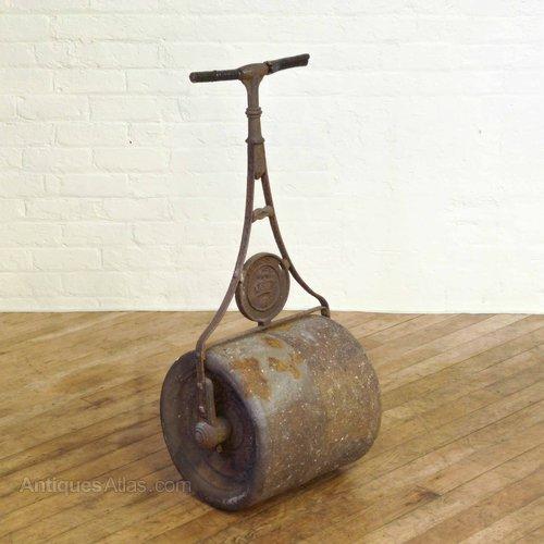 Antiques Atlas Victorian Iron Garden Roller