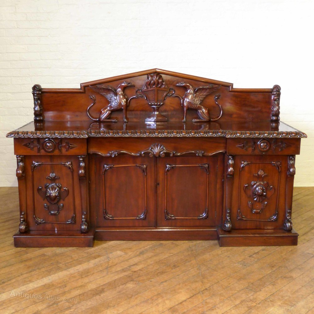victorian mahogany sideboard antiques atlas. Black Bedroom Furniture Sets. Home Design Ideas