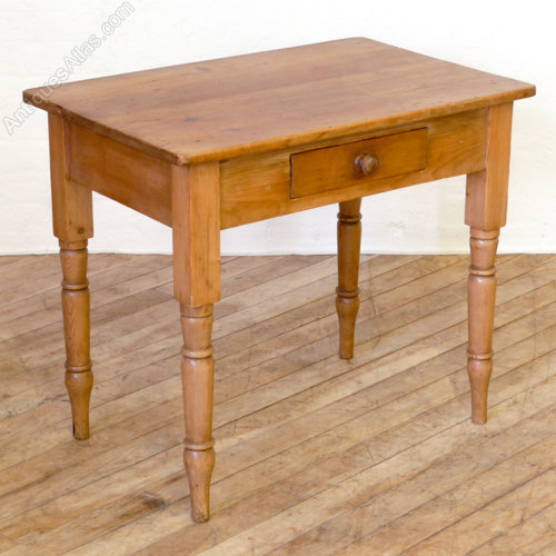 Victorian Pine Side Table Antiques Atlas