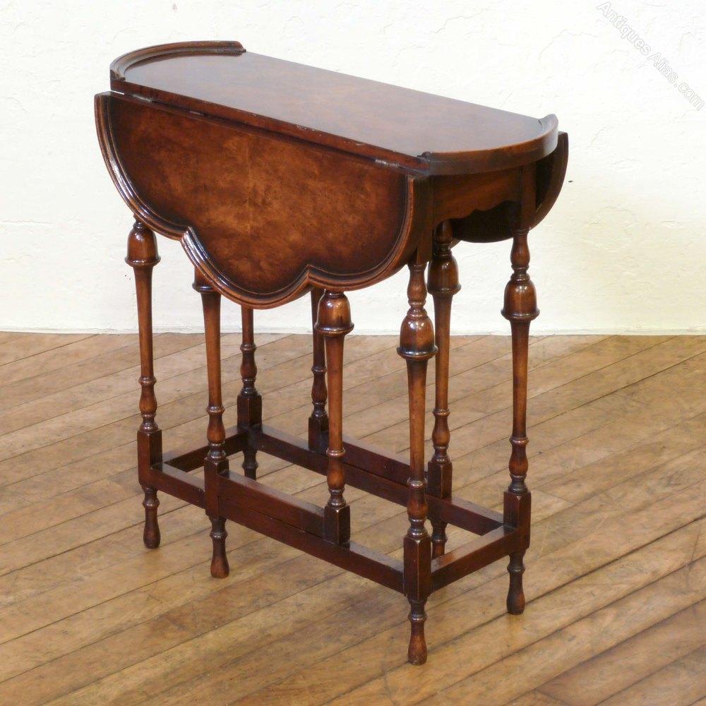Victorian Walnut Gateleg Table Antiques Atlas