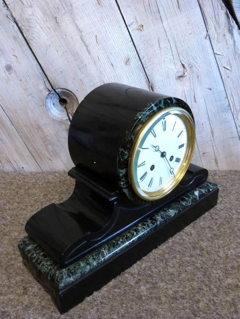 Antiques Atlas 19th Century French Slate Mantel Clock