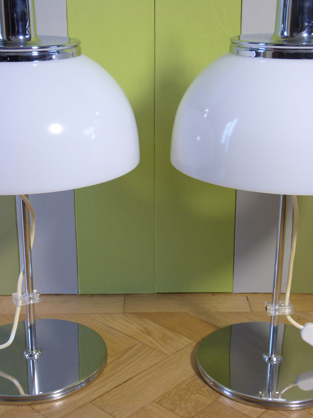 Antiques Atlas A Pair Of Harvey Guzzini Table Lamps
