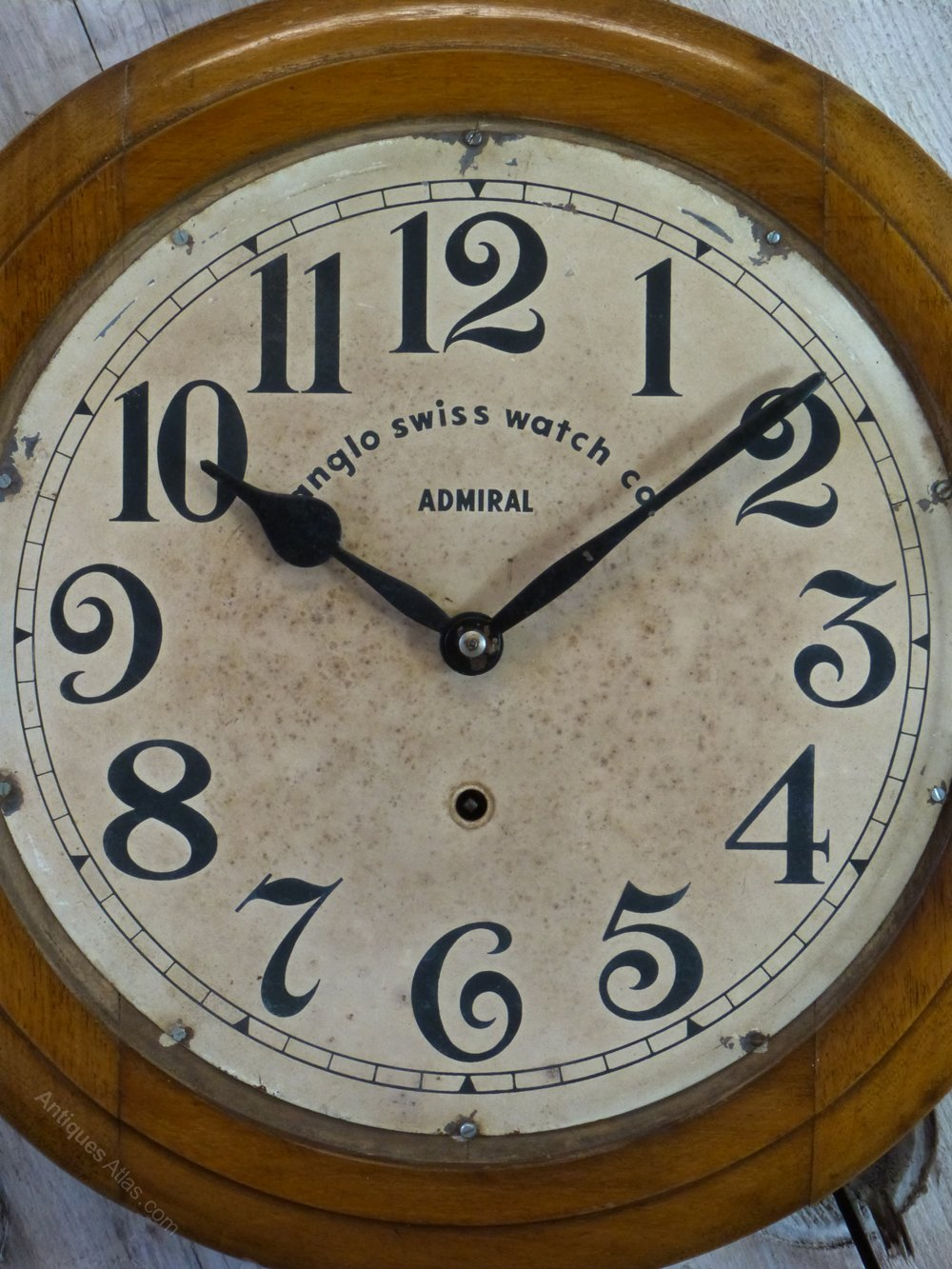 Antiques atlas anglo swiss railway school wall clock anglo swiss railway school wall clock antique station wall clocks amipublicfo Gallery