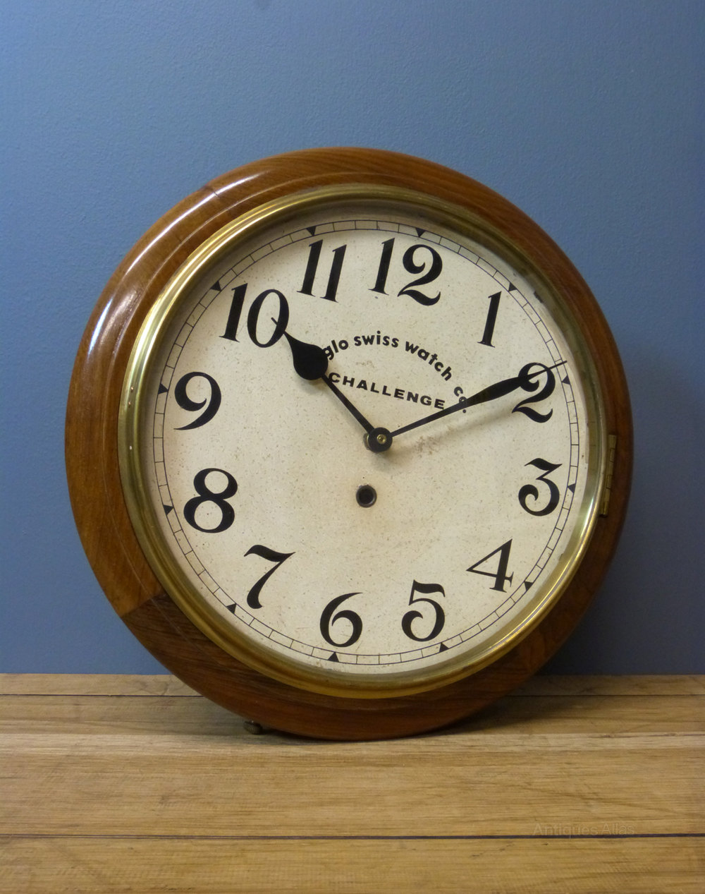 Antiques Atlas Anglo Swiss Wall Clock