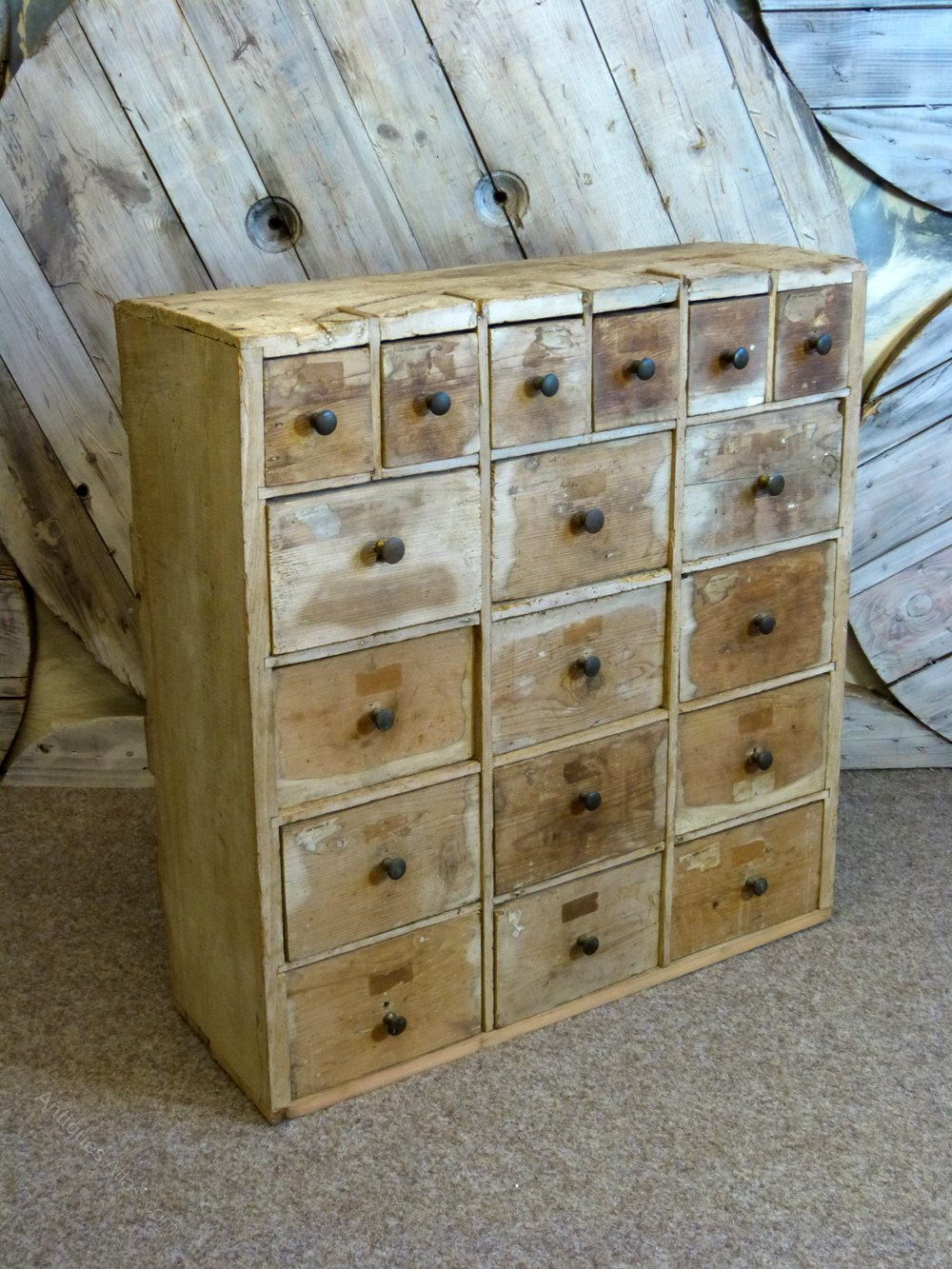 Apothecary Bank Of Drawers Antiques Atlas