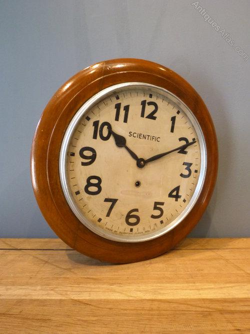 Antiques Atlas Indian Scientific Wall Clock