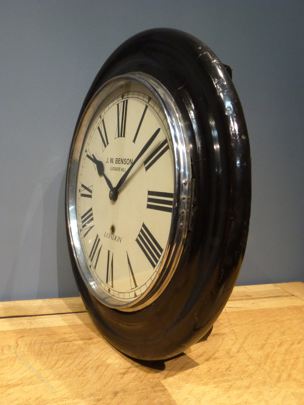 Antiques Atlas Jw Benson London Station Clock