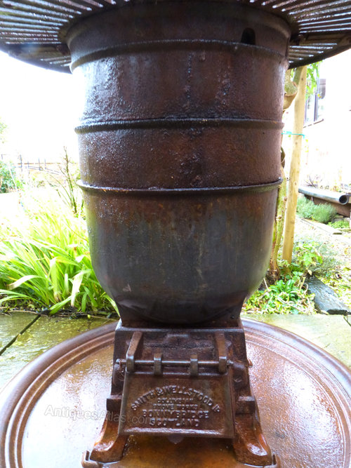 Antiques Atlas Romesse Pot Belly Wood Burner