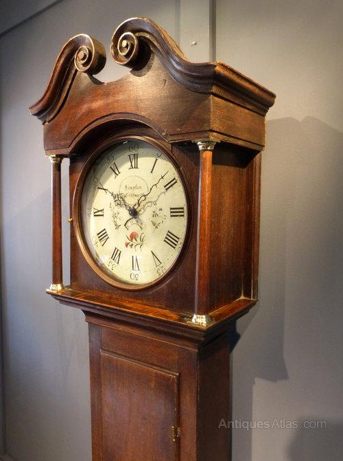 Antiques Atlas Rustic Farmhouse Longcase Clock