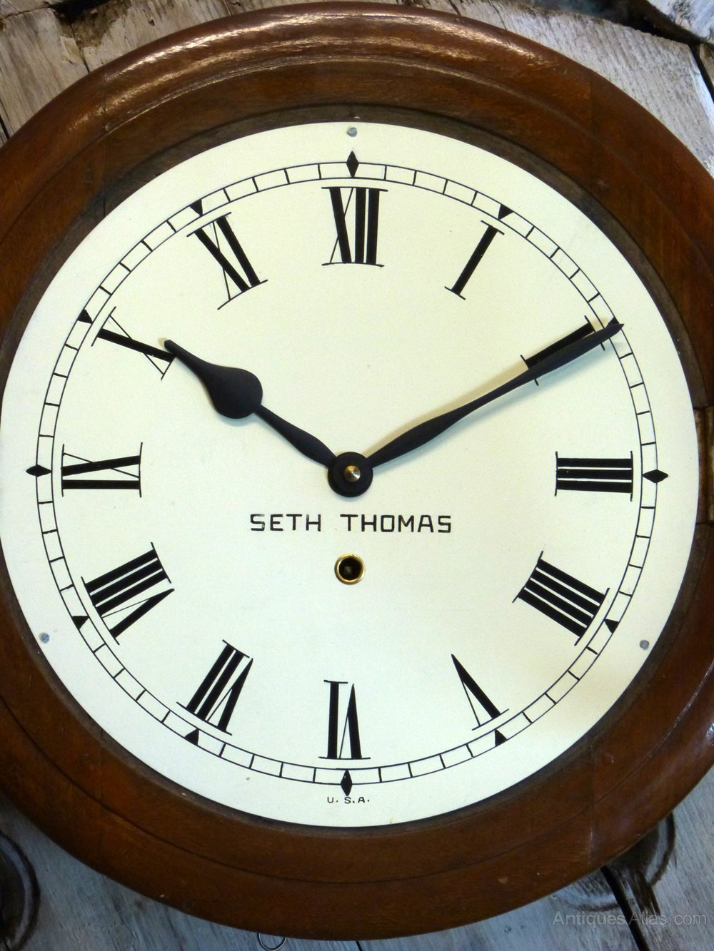 Antiques Atlas Seth Thomas Railway School Clock