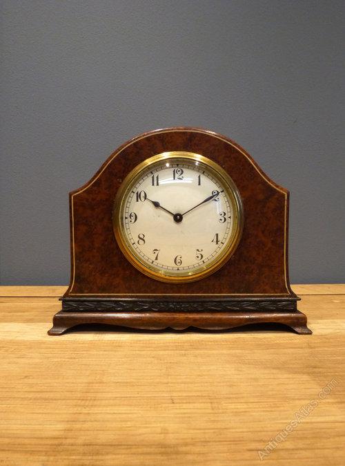 Antiques Atlas - Swiss Buren Mantel Clock