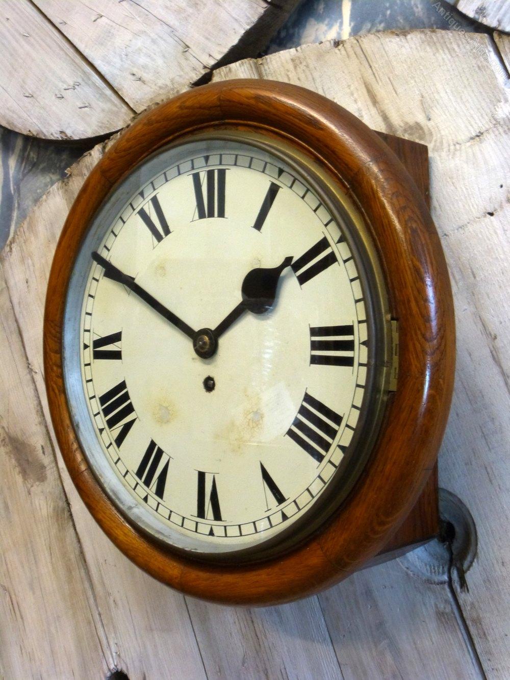 Antiques Atlas Tameside Fusee Wall Clock