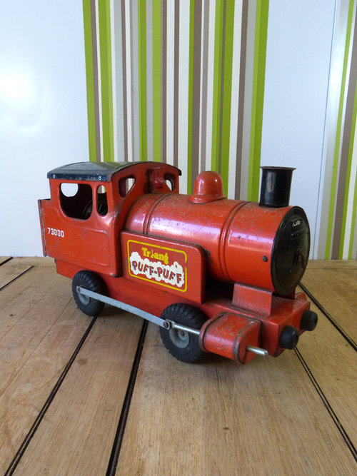 Old Toy Trains : Antiques atlas triang puff train