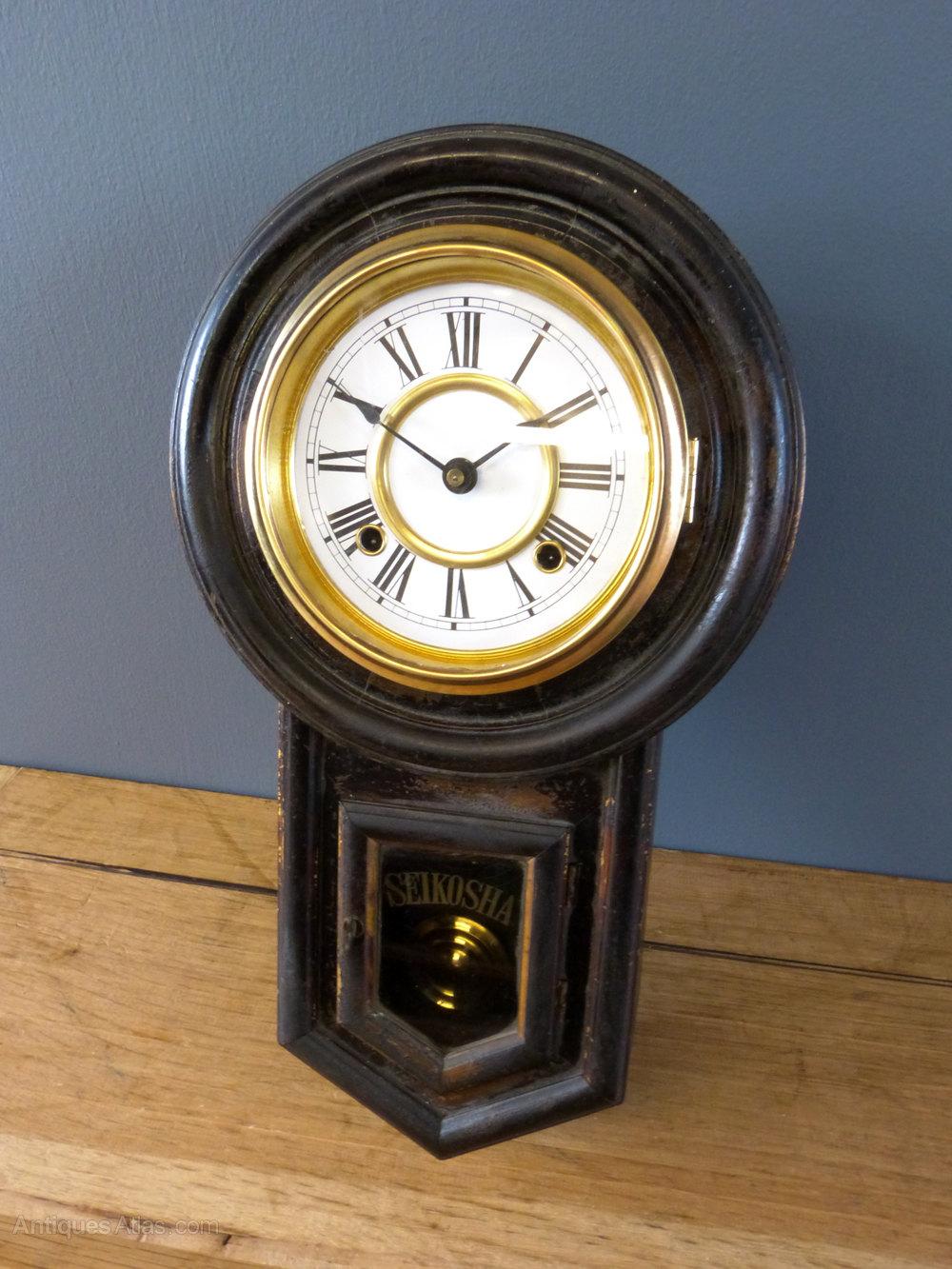Antiques Atlas Victorian Japanese Wall Clock