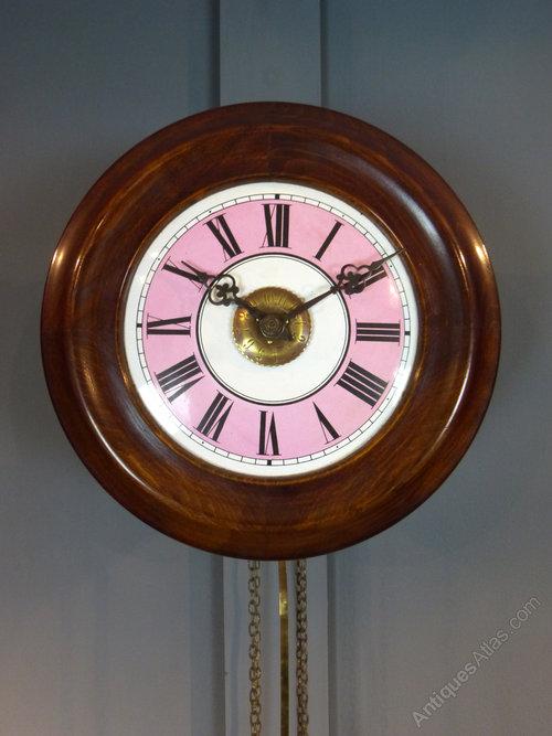 Antiques Atlas Victorian Postmans Wall Clock