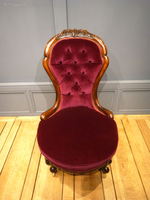Victorian Salon Chair Antiques Atlas