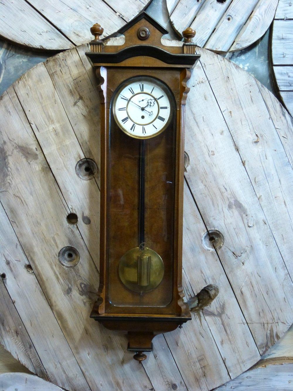 Antiques Atlas Victorian Vienna Wall Clock