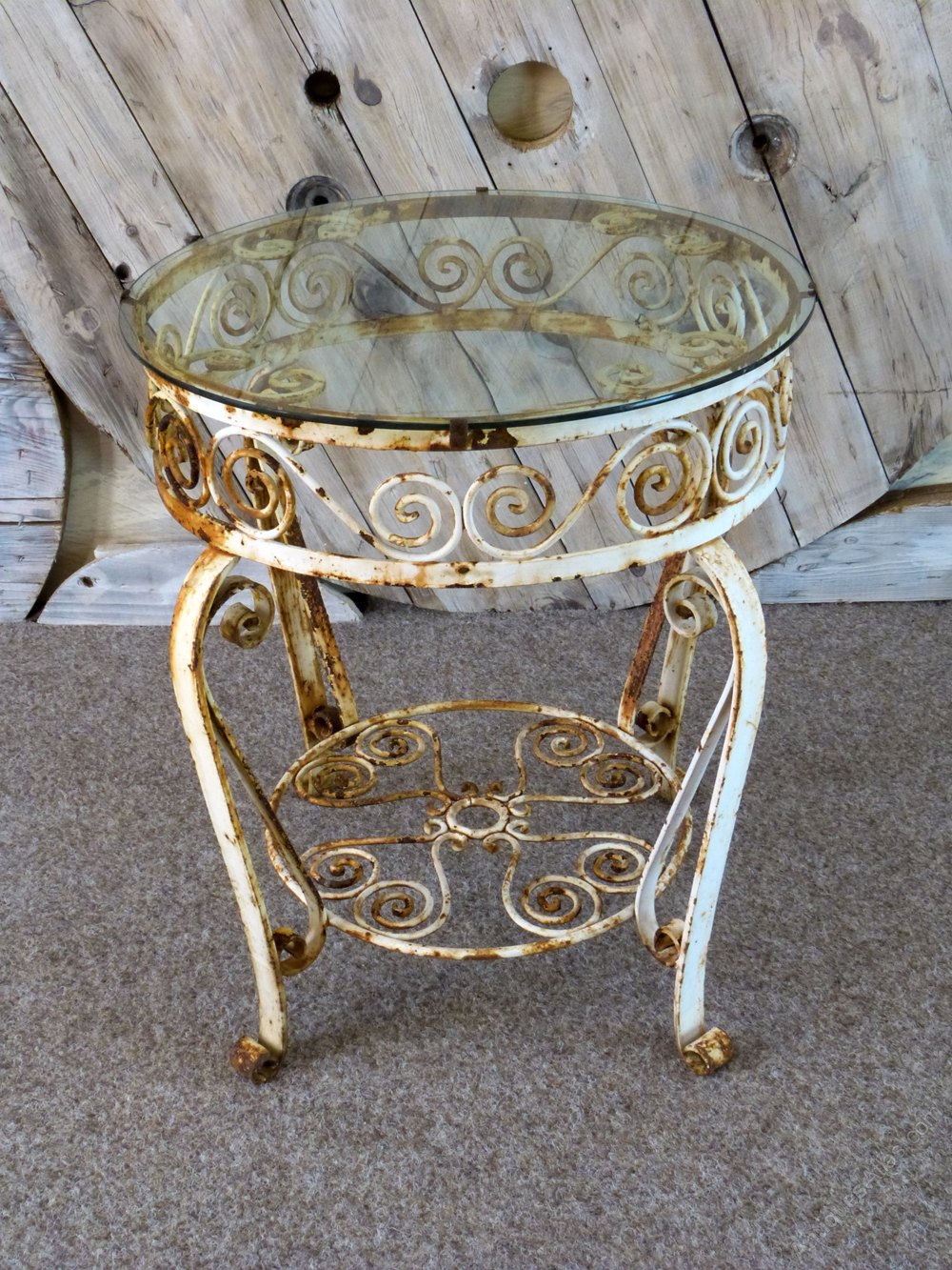 Antiques Atlas Wrought Iron Occasional Table