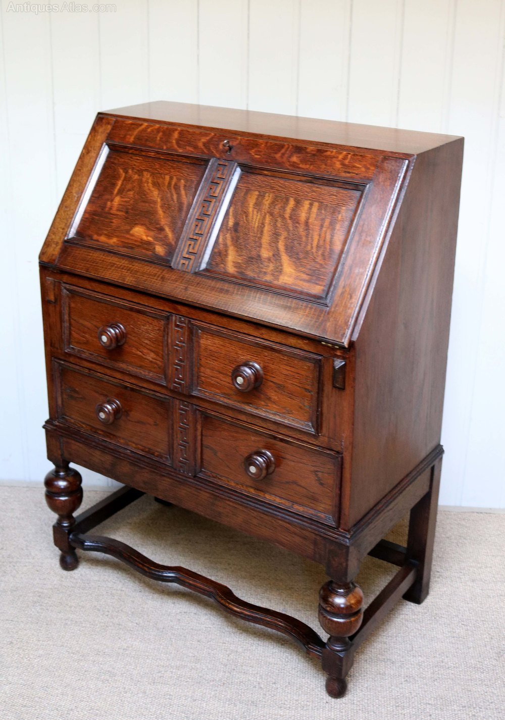 1920s oak bureau antiques atlas for Bureau antique