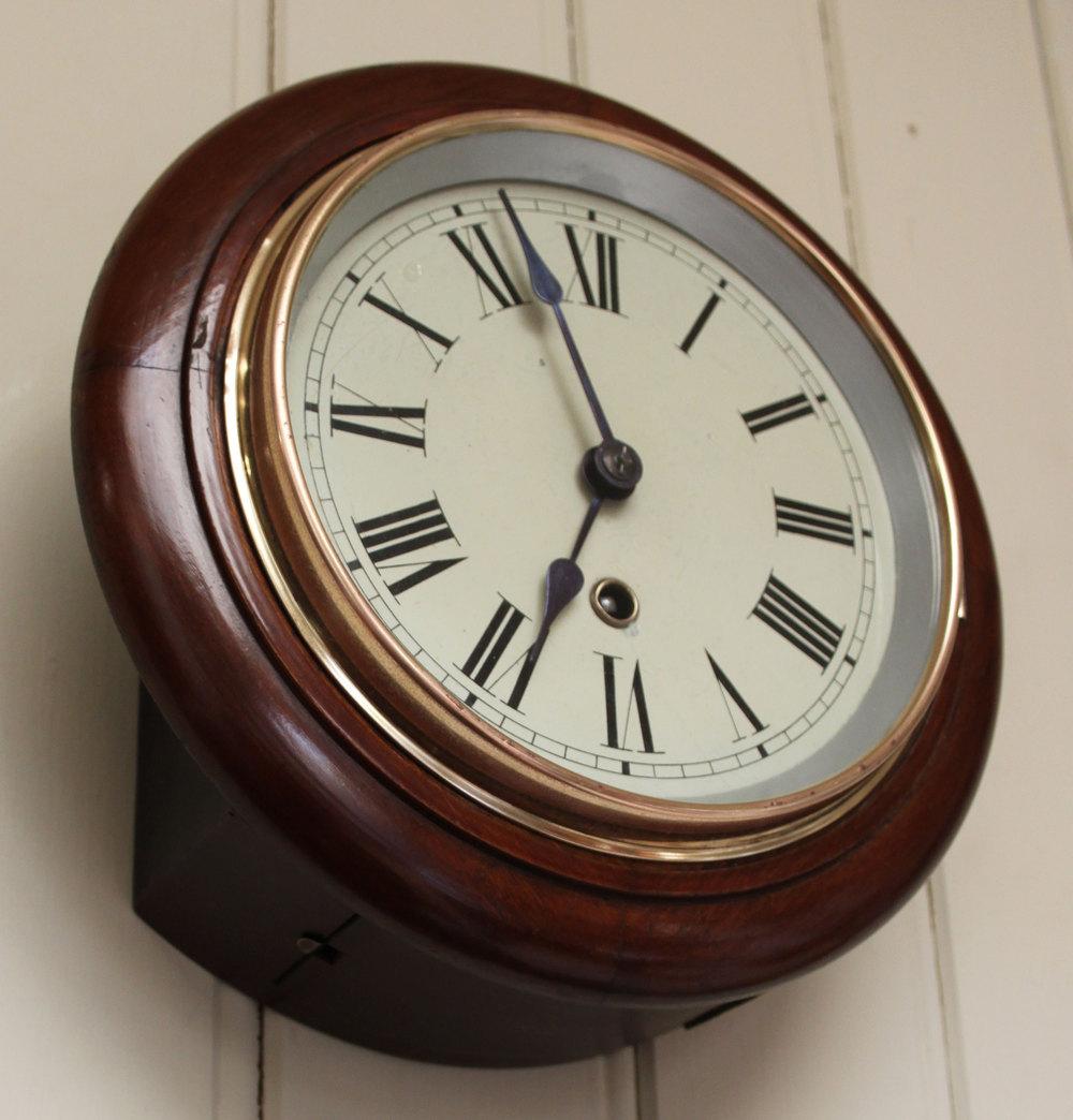 Antiques Atlas 8 Inch Dial Wall Clock