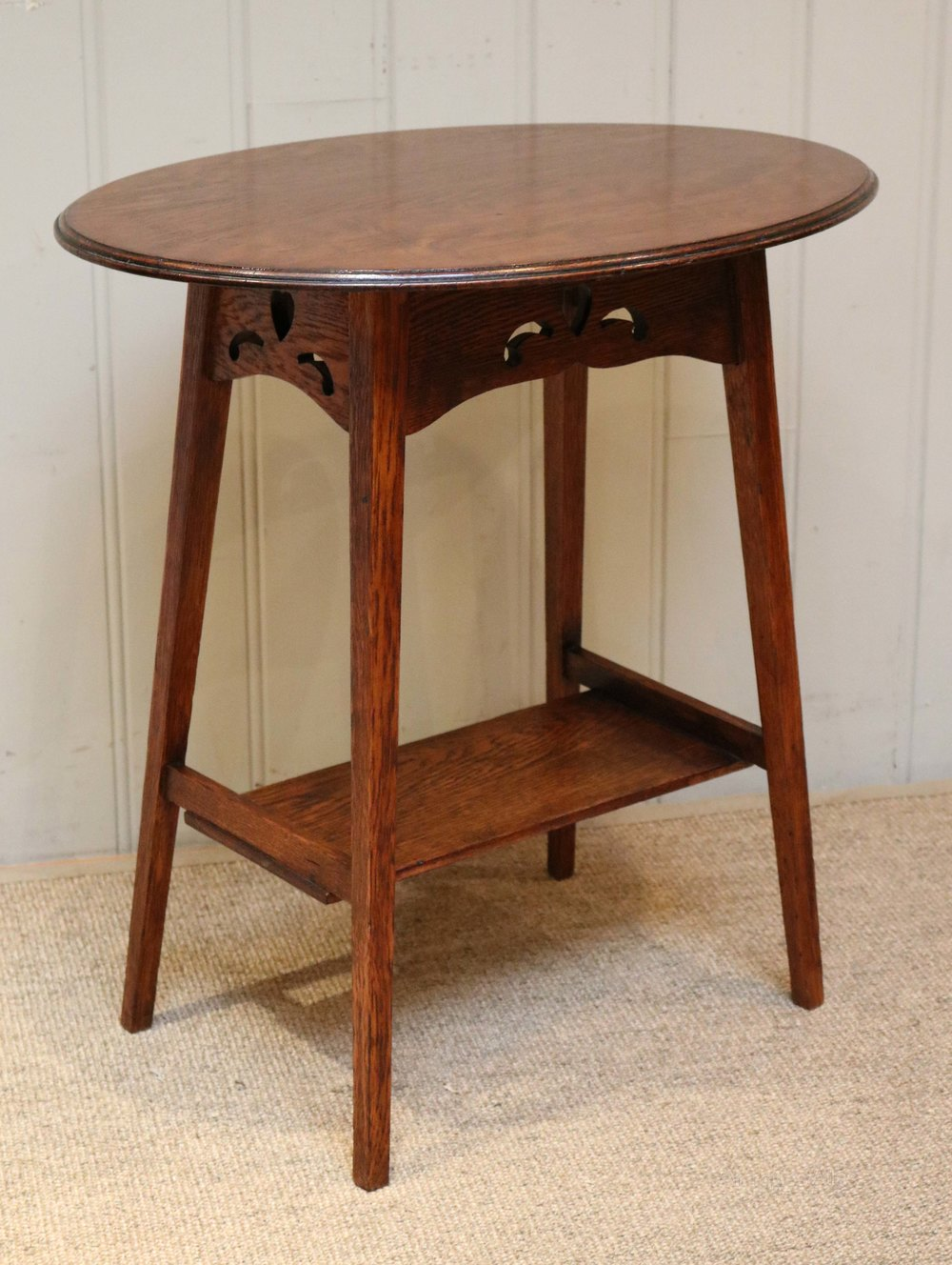 arts and crafts oval oak table antiques atlas. Black Bedroom Furniture Sets. Home Design Ideas