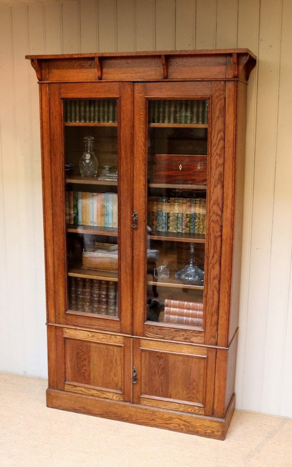 Arts And Crafts Oak Bookcase Antiques Atlas