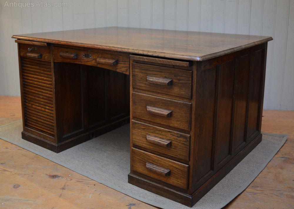 French Oak Partners Desk  Antiques Atlas. Metal Loft Bed With Desk. Desk Stools Chairs. Ikea Desk And Bookshelf Combo. Century Dining Table. Chest Table. Metal And Glass End Tables. Inexpensive Corner Desk. Unfinished Wood Table