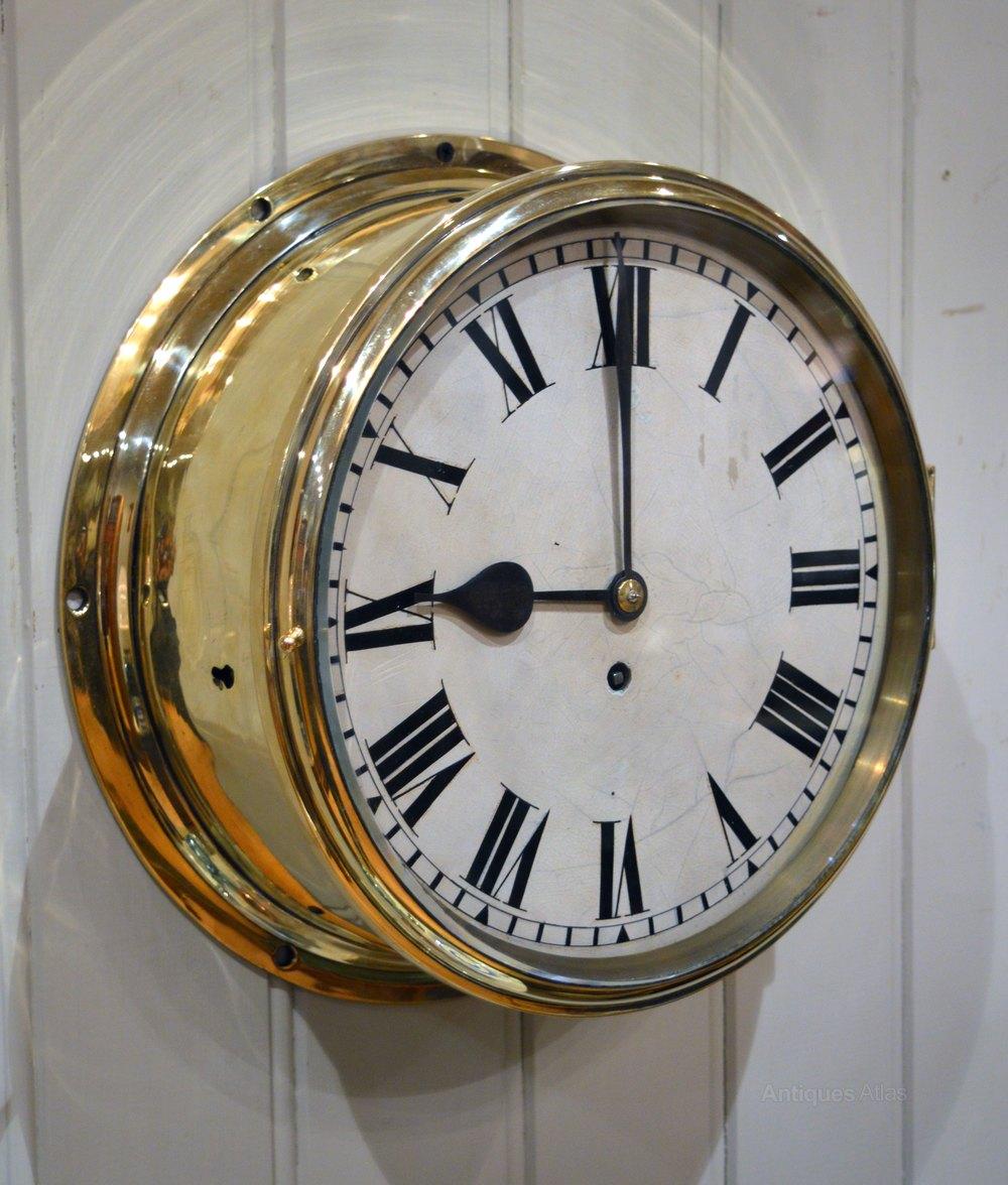 Antique Ship Clocks Bing Images