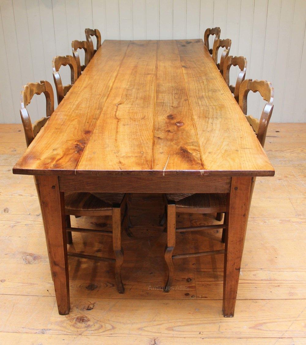 Cherrywood Farmhouse Table Antiques Atlas