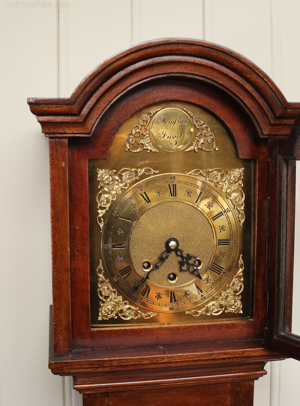 Antiques Atlas Mahogany Westminster Chime Grandmother