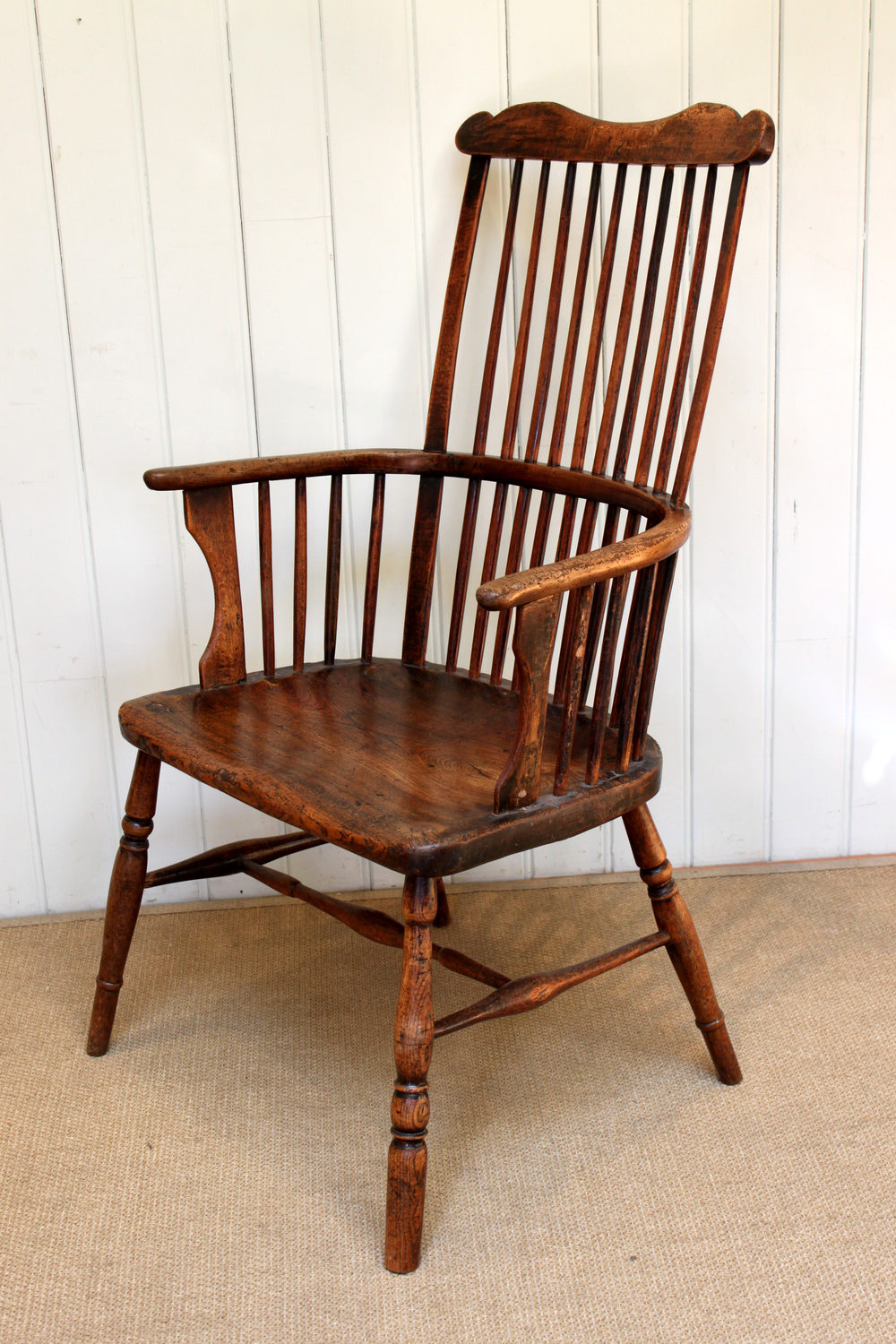 Mid 18th Century Comb Back Windsor Chair - Antiques Atlas