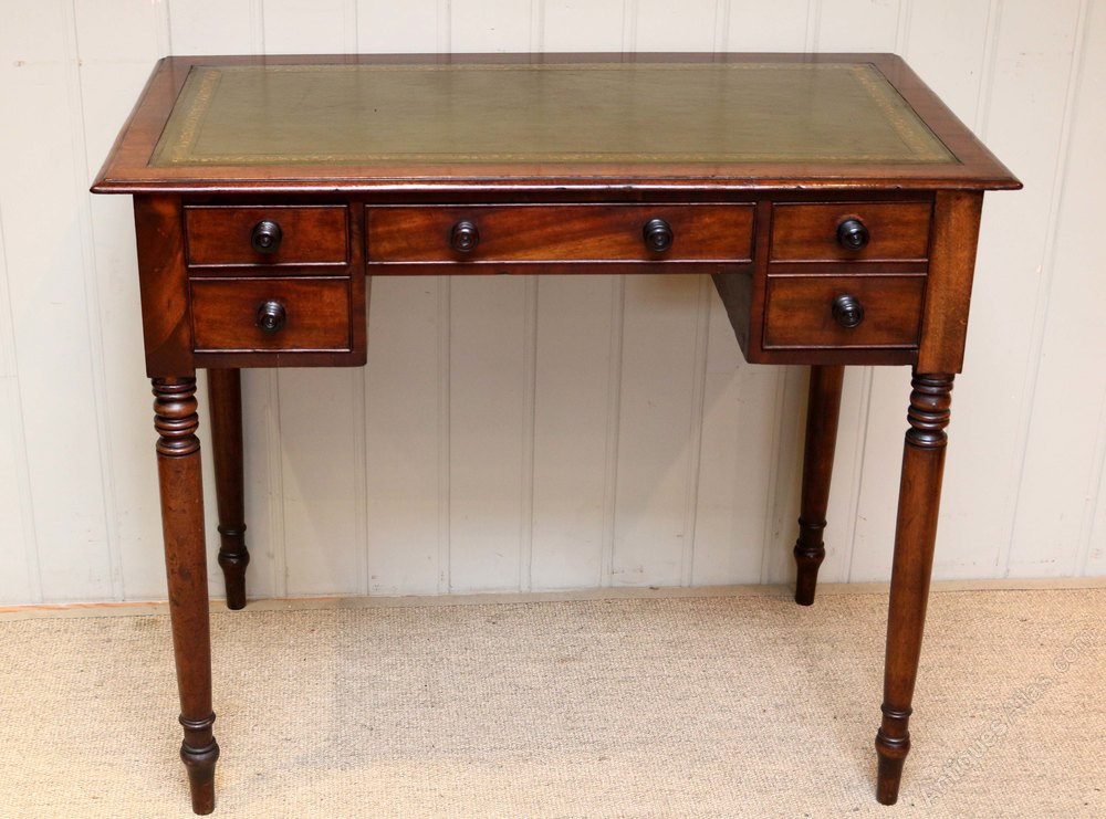 Mid 19th Century Mahogany Desk Antiques Atlas