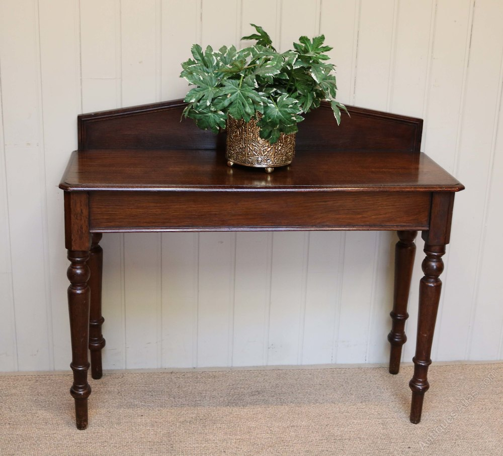 oak hall console table antiques atlas