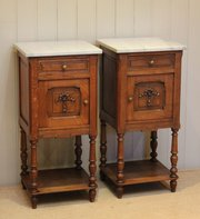 1910s antique bedside cabinets and other bedroom furniture