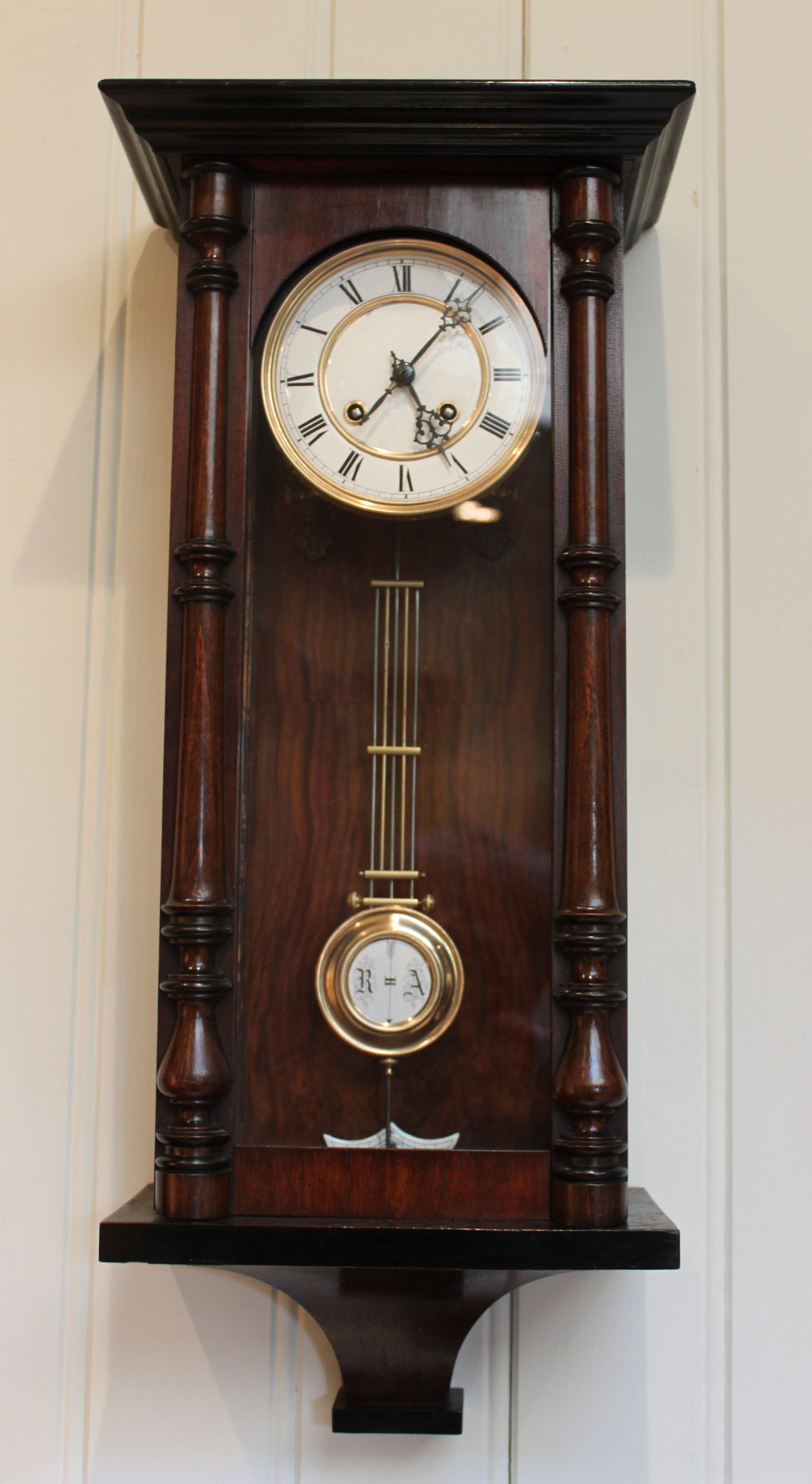 Antiques Atlas Small Regulator Wall Clock