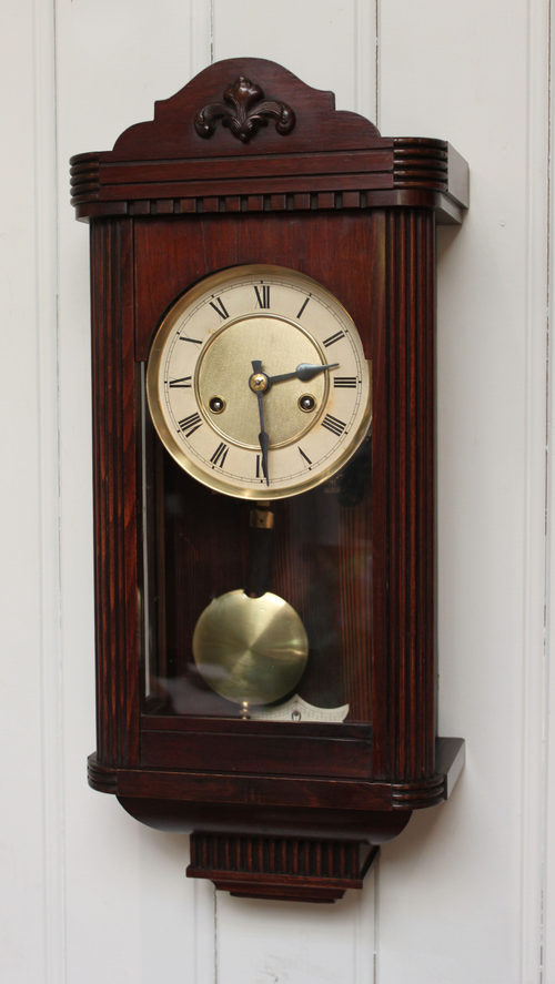 Antiques Atlas Small Striking Wall Clock