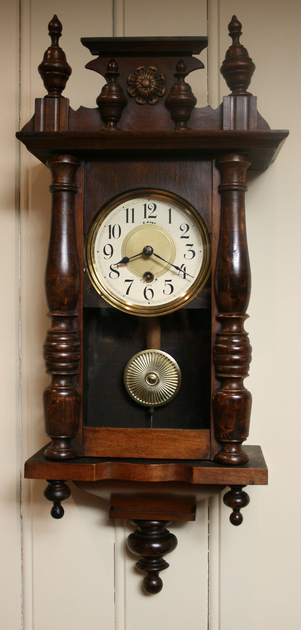 Antiques Atlas Small Timepiece Wall Clock