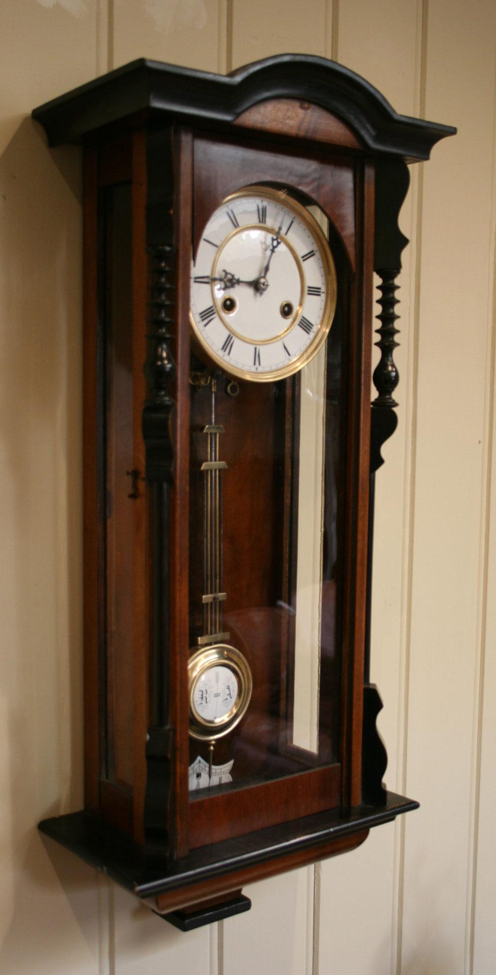 Antiques Atlas Spring Vienna Regulator Wall Clock